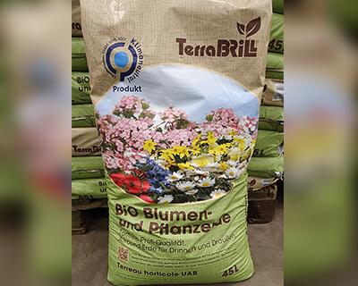 Brill BIO Blumenerde, Klimaneutral