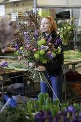 Floristen-Workshop mit Julia Erven auf dem Blumengrossmarkt Düsseldorf