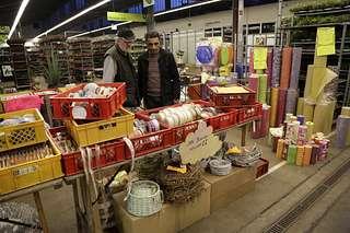 Buntes Treiben beim Herbst Potpourri auf dem Blumengrossmarkt Düsseldorf