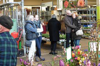 Löwenstarker Frühling auf dem Blumengrossmarkt Düsseldorf