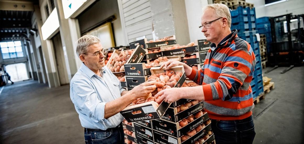 Großmarkt-Händler in Düsseldorf proben den Aufstand