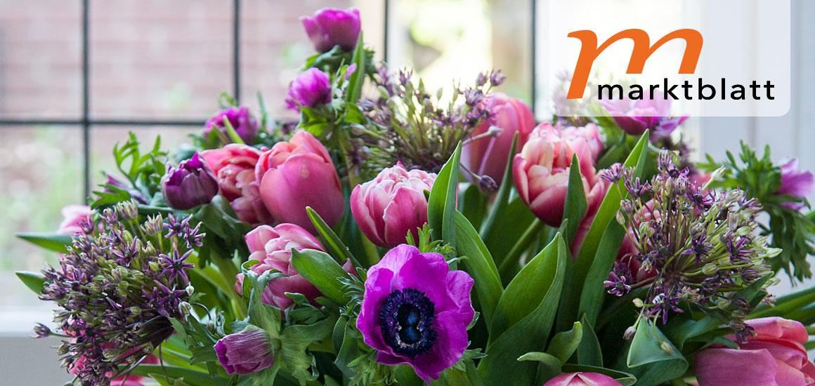 Blumengroßmarkt Düsseldorf – Blumen sind Glücksboten