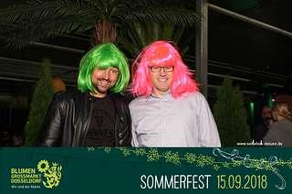 Blumengrossmarkt Düsseldorf – Großes Sommerfest auf dem Blumengroßmarkt